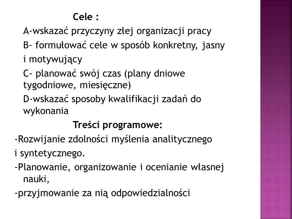 J.Adair, Anatomia biznesu Zarządzanie czasem, EMKA, 2000 H.