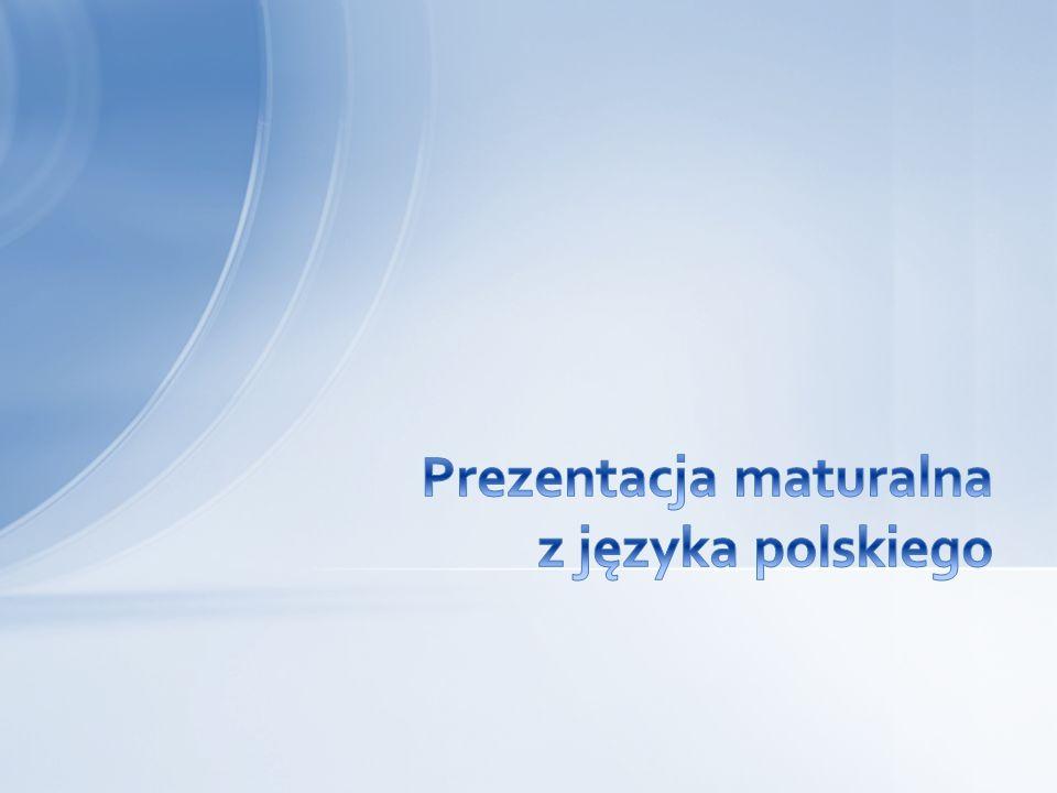 Część ustna egzaminu z języka polskiego ma formę prezentacji Egzamin jest obowiązkowy i wszyscy zdają go na tym samym poziomie Całość trwa 25 minut i składa się z dwóch etapów