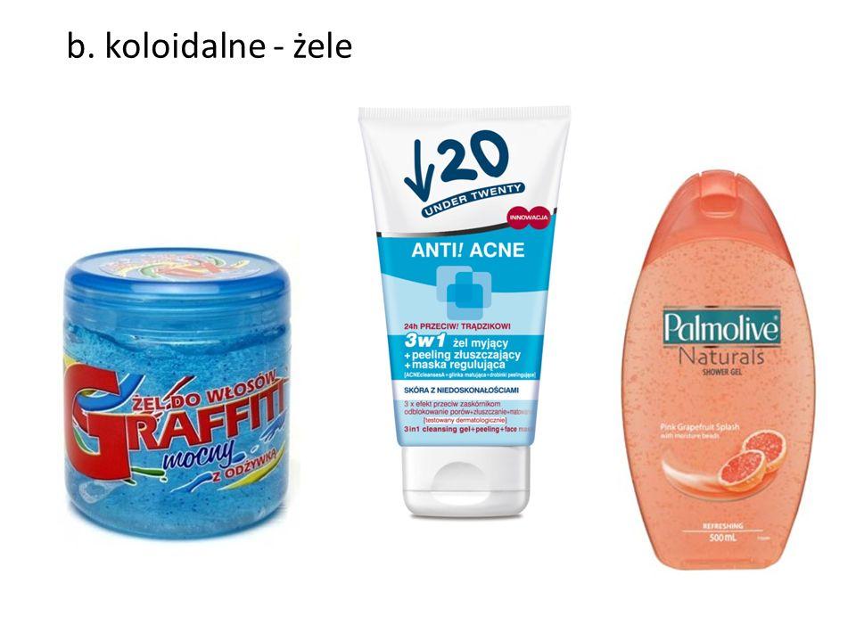 Tlenek glinu (Al 2 O 3 ) Ma właściwości chłonne – używany do pudrów, zasypek, pomadek.