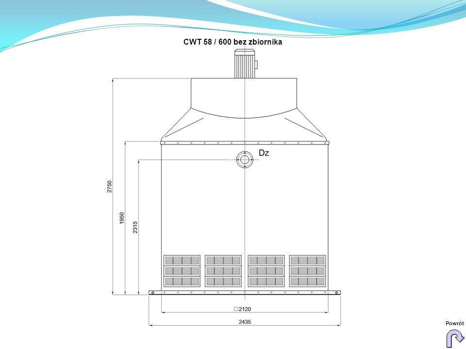CWT 58 / 600 bez zbiornika Powrót
