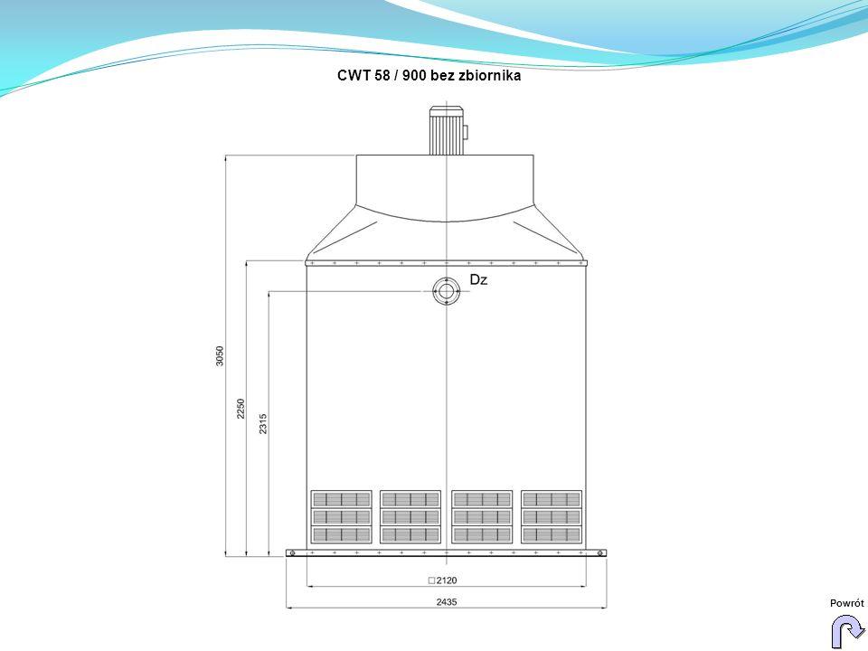 CWT 58 / 900 bez zbiornika Powrót