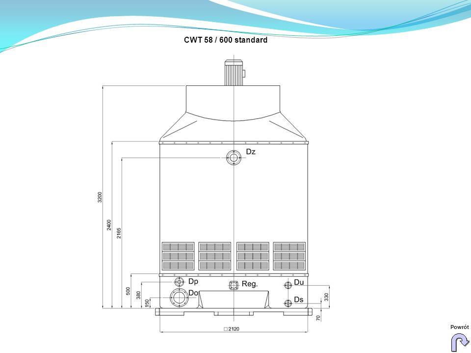 CWT 58 / 600 standard Powrót