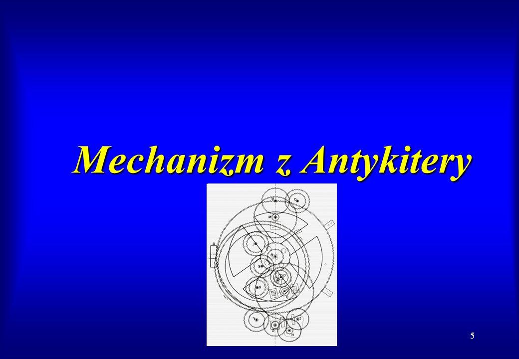 5 Mechanizm z Antykitery