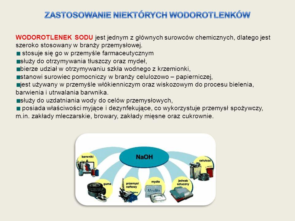 WODOROTLENEK SODU jest jednym z głównych surowców chemicznych, dlatego jest szeroko stosowany w branży przemysłowej. stosuje się go w przemyśle farmac