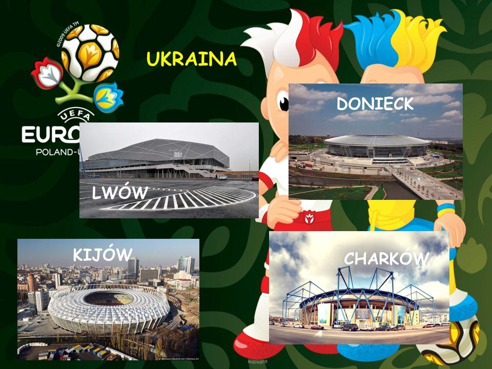 UKRAINA DONIECK LWÓW KIJÓW CHARKÓW