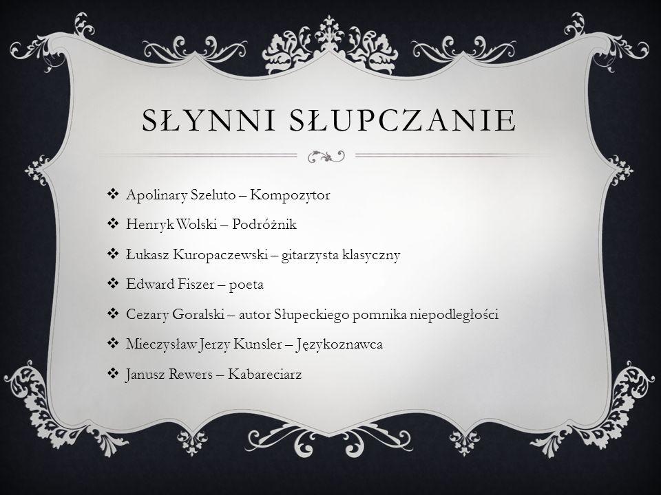 Park Miejski w Słupcy został założony w 1872 roku.