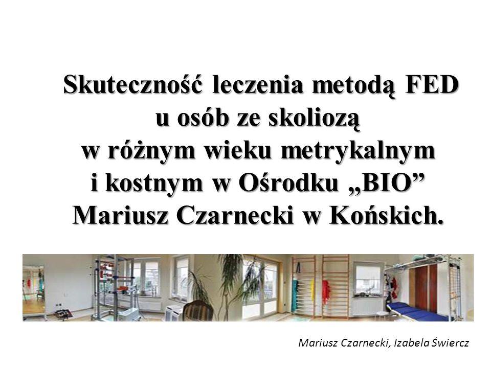 Ośrodek BIO Mariusz Czarnecki z Końskich (województwo świętokrzyskie) w lipcu 2011 roku jako 3 ośrodek w Polsce wprowadził metodę FED prof.