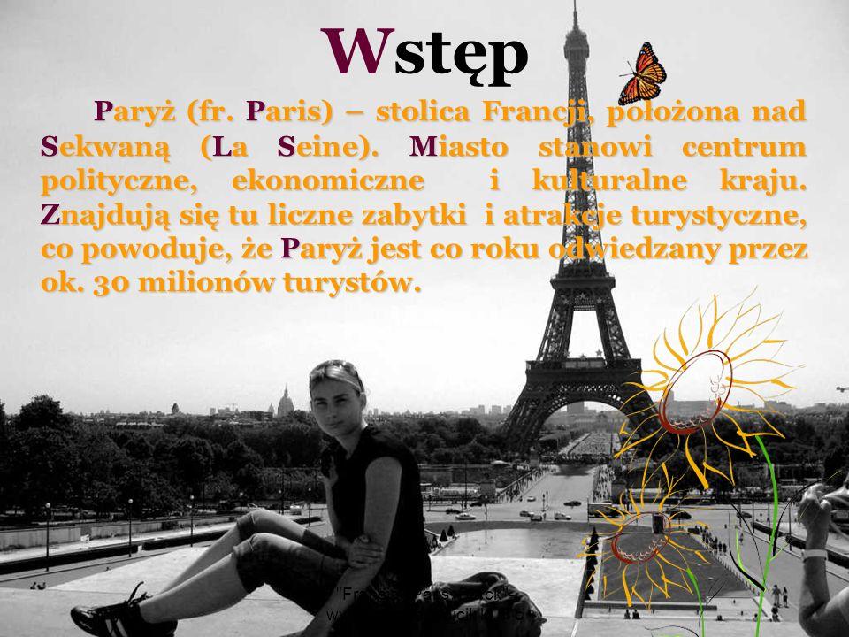 Francja - Paris, Berck - wyk.Barbara Wójcik kl.III c Sacre -CoeurParyż – XVIII dzielnica.