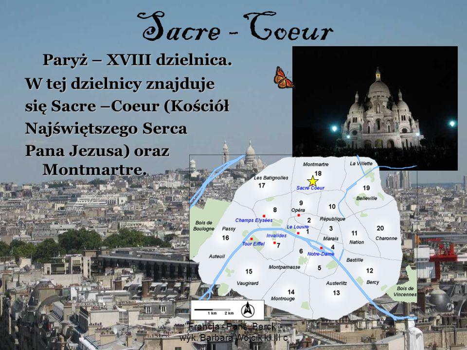 Francja - Paris, Berck - wyk.