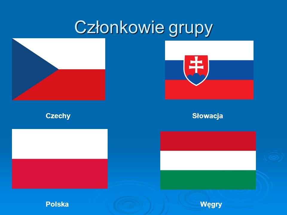 Członkowie grupy Czechy Słowacja Polska Węgry