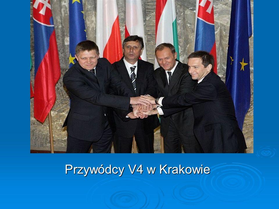 Przywódcy V4 w Krakowie Przywódcy V4 w Krakowie
