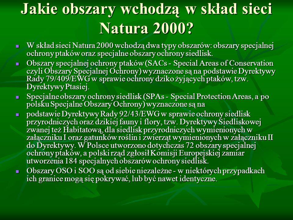 Jak tworzona jest sieć Natura 2000.