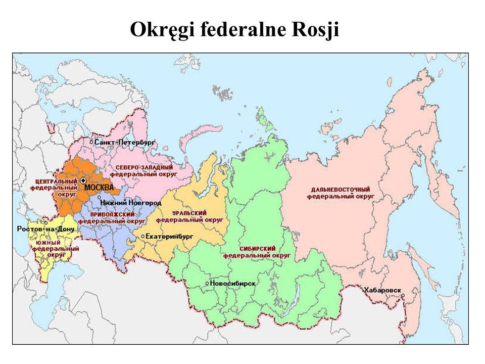 Okręgi federalne Rosji