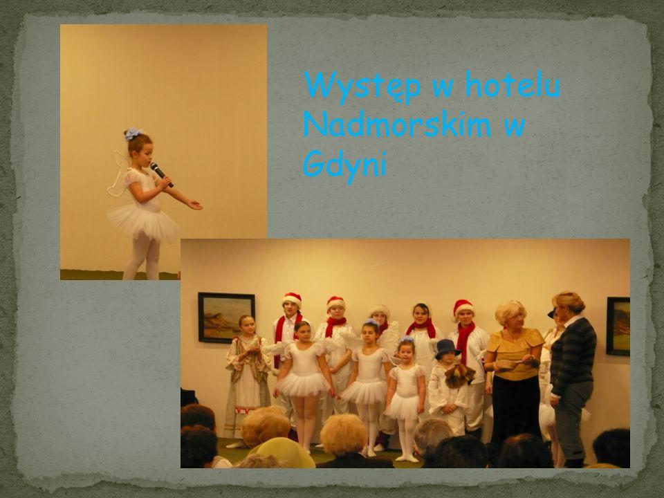 Występ w hotelu Nadmorskim w Gdyni