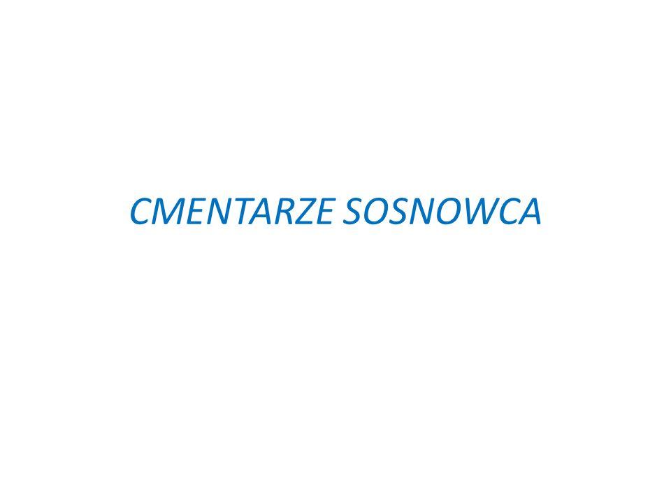 Moja prezentacja została poświęcona kompleksowi cmentarnemu przy ul.Smutnej,Gospodarczej oraz Aleji Józefa Mireckego w Sosnowcu, w którego skład wchodzą 4 cmentarze: Rzymskokatolicki Prawosławny Ewangelicki Żydowski