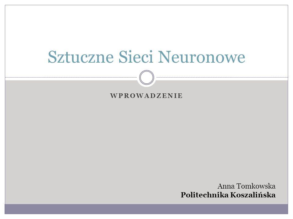 Uproszczony schemat neuronu i jego połączenia z sąsiednim neuronem Sztuczne sieci neuronowe (SSN) wzorują się na zjawiskach zachodzących w mózgu ludzkim.
