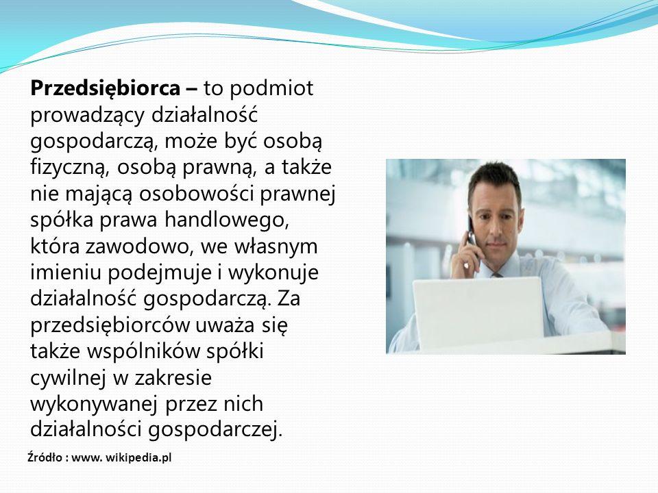 4.Cele przedsiębiorstwa 4. 1.