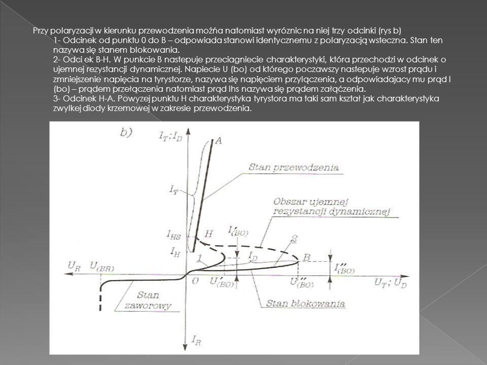 Celem ćwiczenia jest poznanie właściwości sterowanych elementów półprzewodnikowych wykorzystujących struktury PNPN, zwłaszcza tyrystorów. Zadaniem ćwi