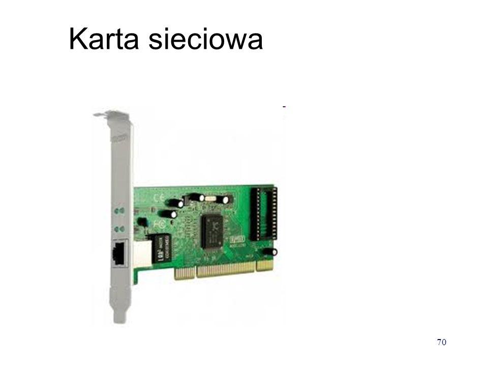 Karta sieciowa ze złączem PCMCIA (laptopy) 69