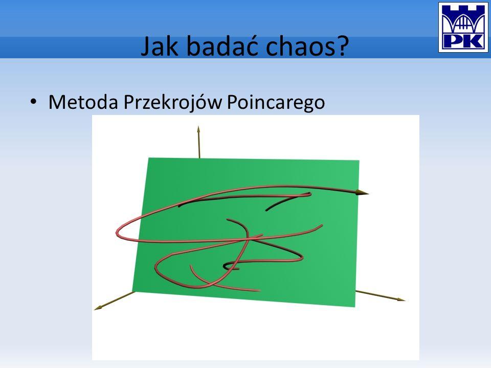 Jak badać chaos? Metoda Przekrojów Poincarego
