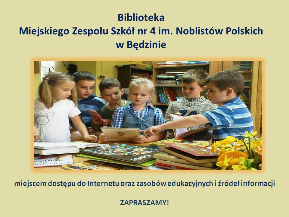 Biblioteka Miejskiego Zespołu Szkół nr 4 im.