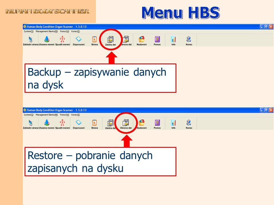 Backup – zapisywanie danych na dysk Restore – pobranie danych zapisanych na dysku