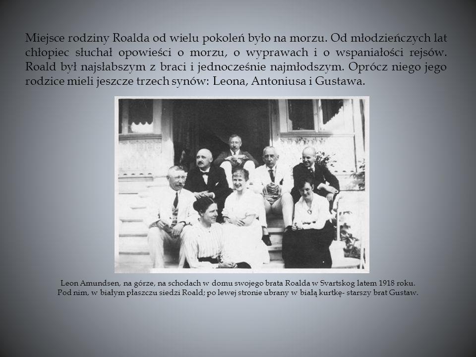 Miejsce rodziny Roalda od wielu pokoleń było na morzu.