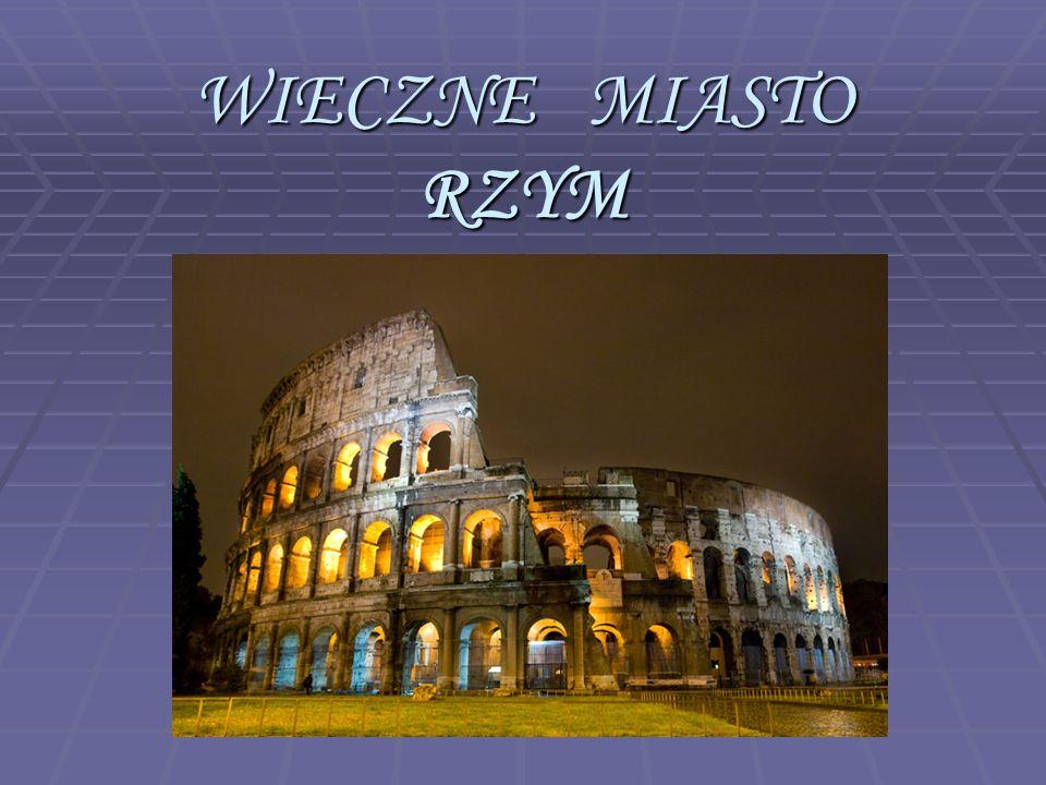 Miejscem narodzin cywilizacji starożytnego Rzymu był położony nad Morzem Śródziemnym Półwysep Apeniński, zwany także Italią.