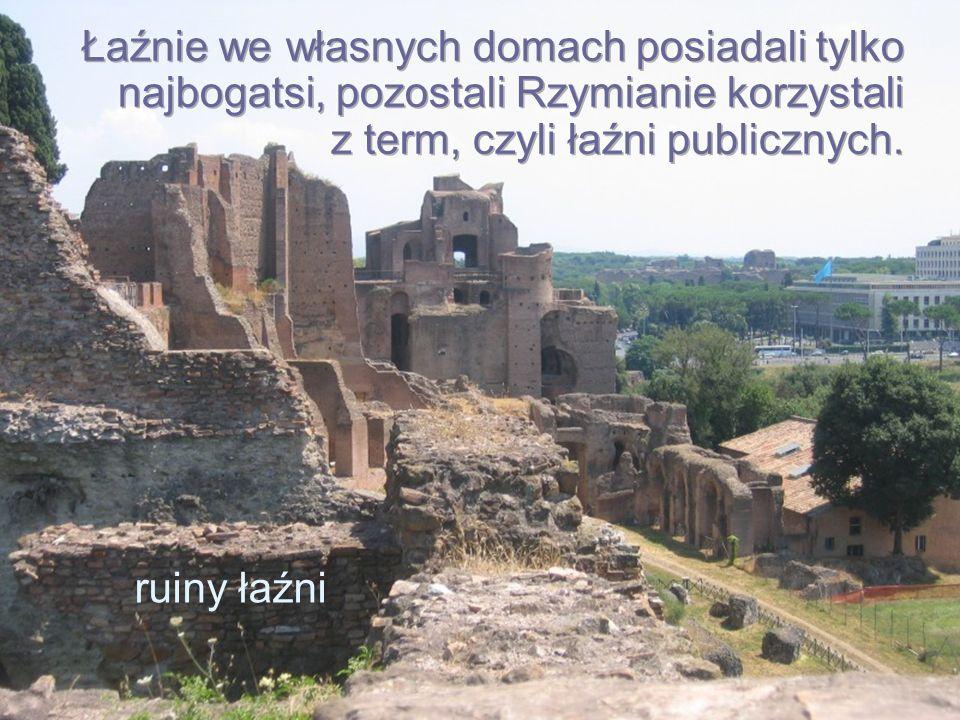 ruiny łaźni