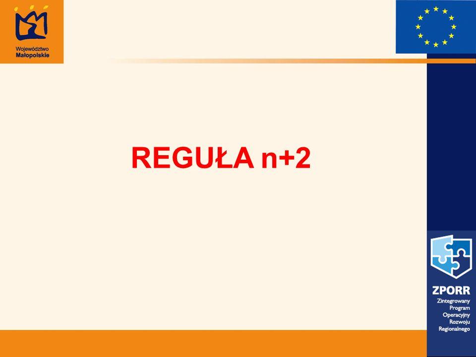 REGUŁA n+2