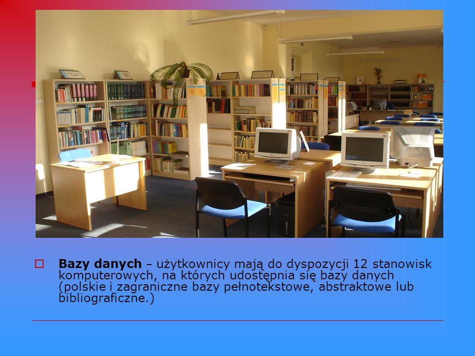 Warsztat informacyjny OIN : Księgozbiór podręczny – obejmujący wyspecjalizowane dokumenty informacyjne (bibliografie, encyklopedie, słowniki, informat