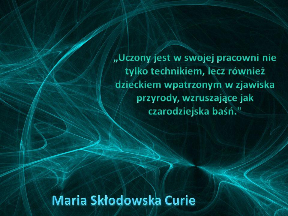 Gdy Maria i Pierre Curie otrzymali nagrodę Nobla, stali się bardzo sławni. Pierrotowi Curie władze Sorbony przyznały stanowisko profesora. Zezwoliły r