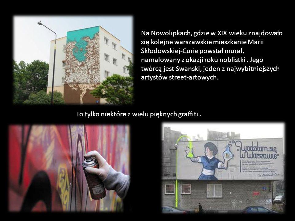 Niedawno zostało ukończone kolejne graffiti poświęcone Marii. Znajduje sie na budynku Centrum Onkologii przy ul. Wawelskiej. Kolejny mural poświęcony
