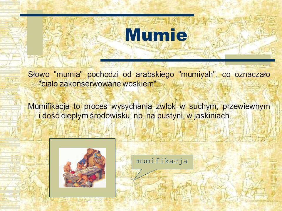 Mumie Słowo