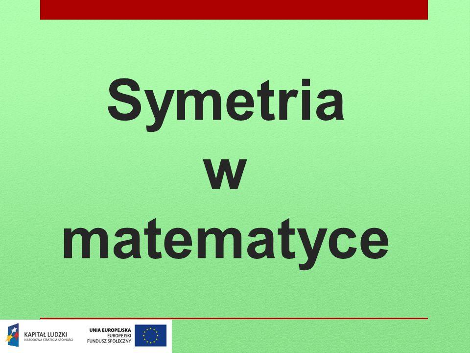 Symetria w matematyce