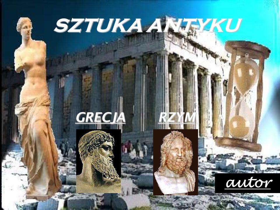 SZTUKA ANTYKU GRECJA RZYM autor