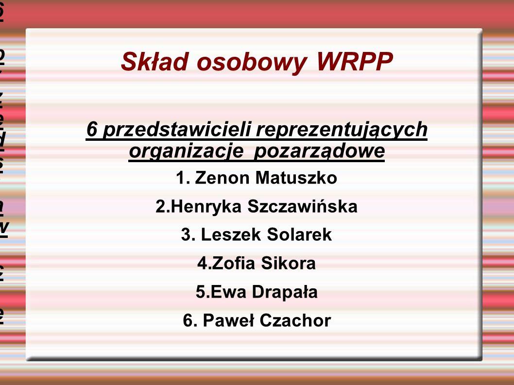 Zadania Wałbrzyskiej Rady Pożytku Publicznego 1.