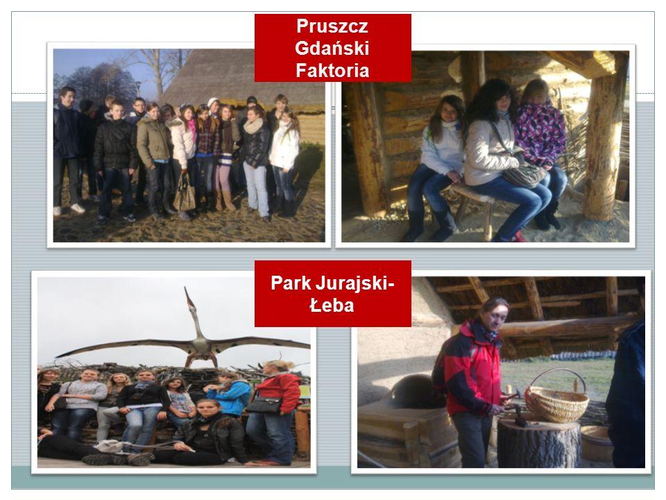 Pruszcz Gdański Faktoria Park Jurajski- Łeba
