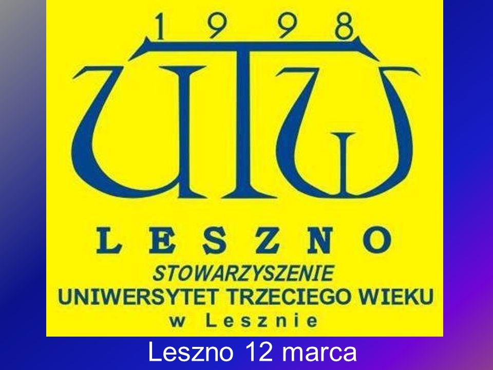 Zebranie sprawozdawcze Stowarzyszenia Uniwersytet Trzeciego Wieku w Lesznie za rok 2009