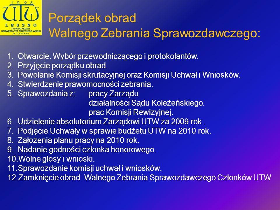 Dziękuję za uwagę Dla UTW w Lesznie Barbara Kaczmarek