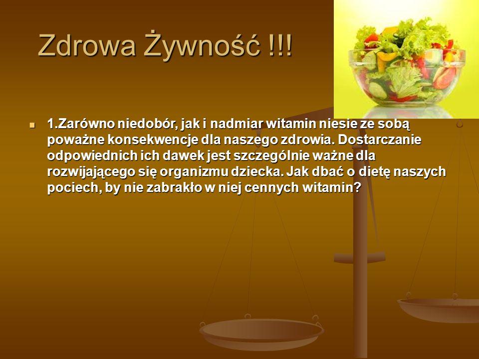 Zdrowa Żywność !!.