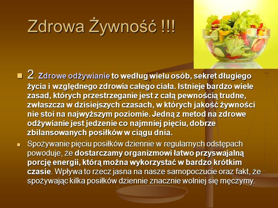 Zdrowa Żywność !!.2.