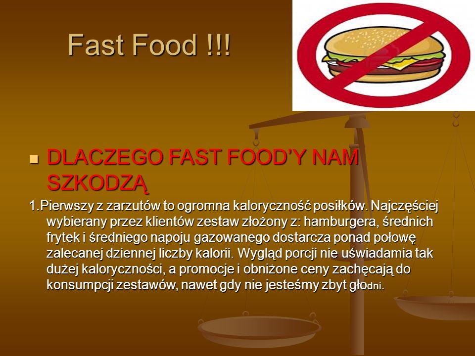Fast Food !!.