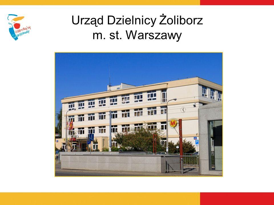 Janusz Warakomski – Burmistrz Dzielnicy Powierzchnia Dzielnicy: 8,5 km 2 – najmniejsza dzielnica Warszawy Liczba mieszkańców Dzielnicy: 48 tys.
