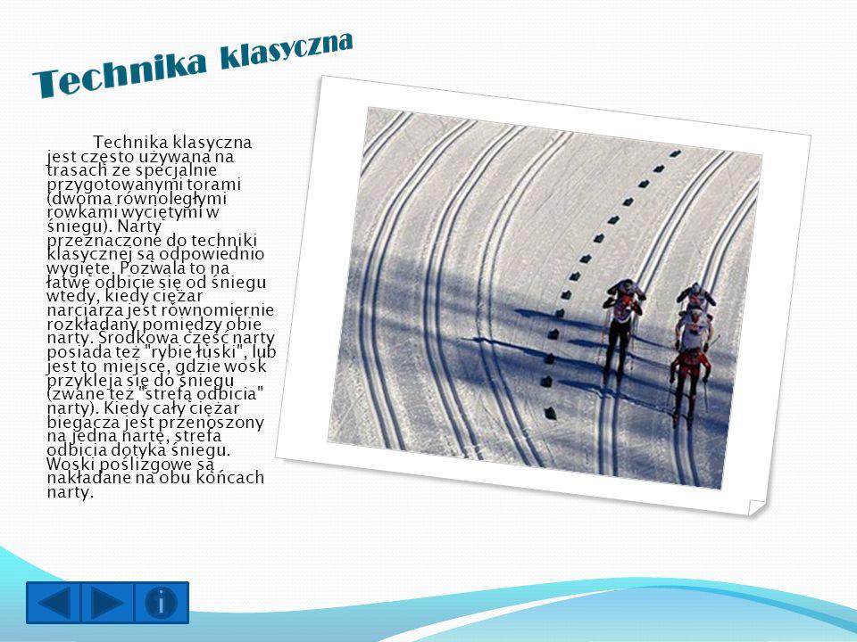 Narciarstwo biegowe jest bardzo dobrym sposobem spędzania czasu wraz z przyjaciółmi i rodziną.