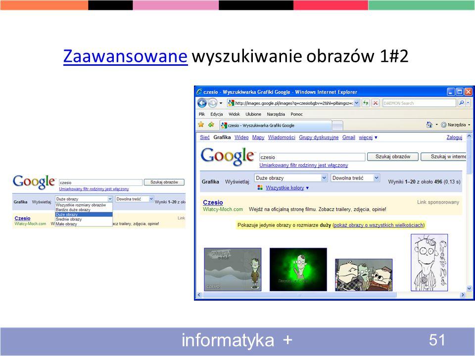 Wyszukiwanie obrazów i animacji 2#4 50 informatyka +