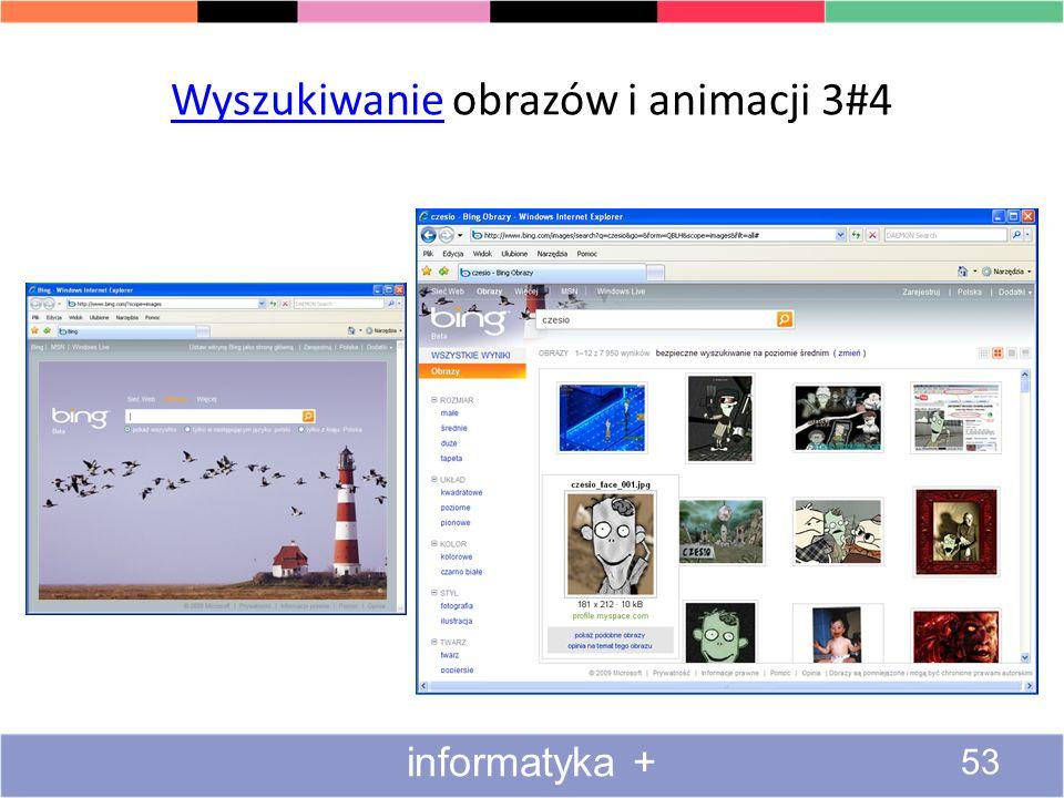 Zaawansowane wyszukiwanie obrazów 2#2 52 informatyka +