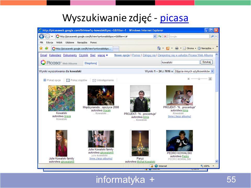 Wyszukiwanie obrazów i animacji 4#4 54 informatyka +