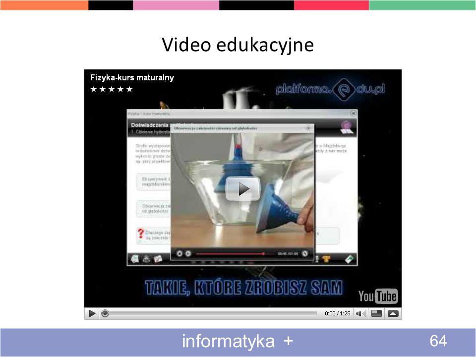 Oglądanie transmisji wideo 3#3 63 informatyka +