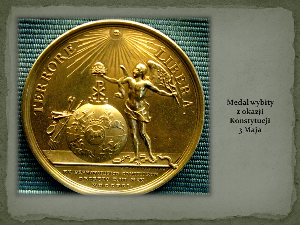 Oryginał Konstytucji 3 Maja Pokój, w którym uchwalono ustawę